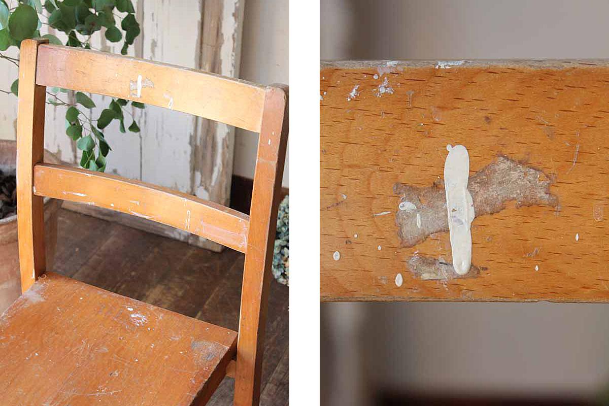 イギリスの古い,キッズチェア,椅子