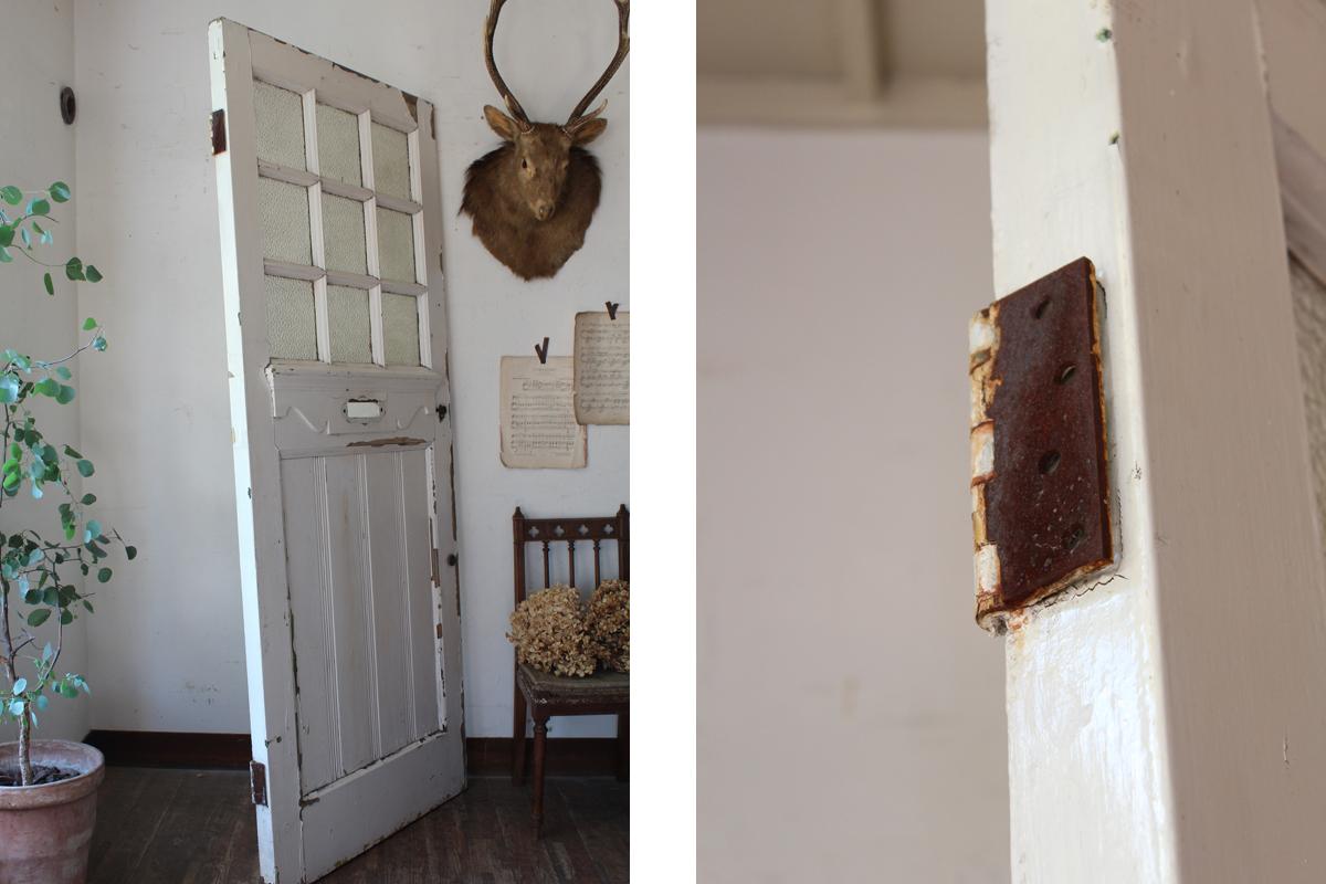 ペンキの剥がれたドア,全国送料無料,玄関ドア