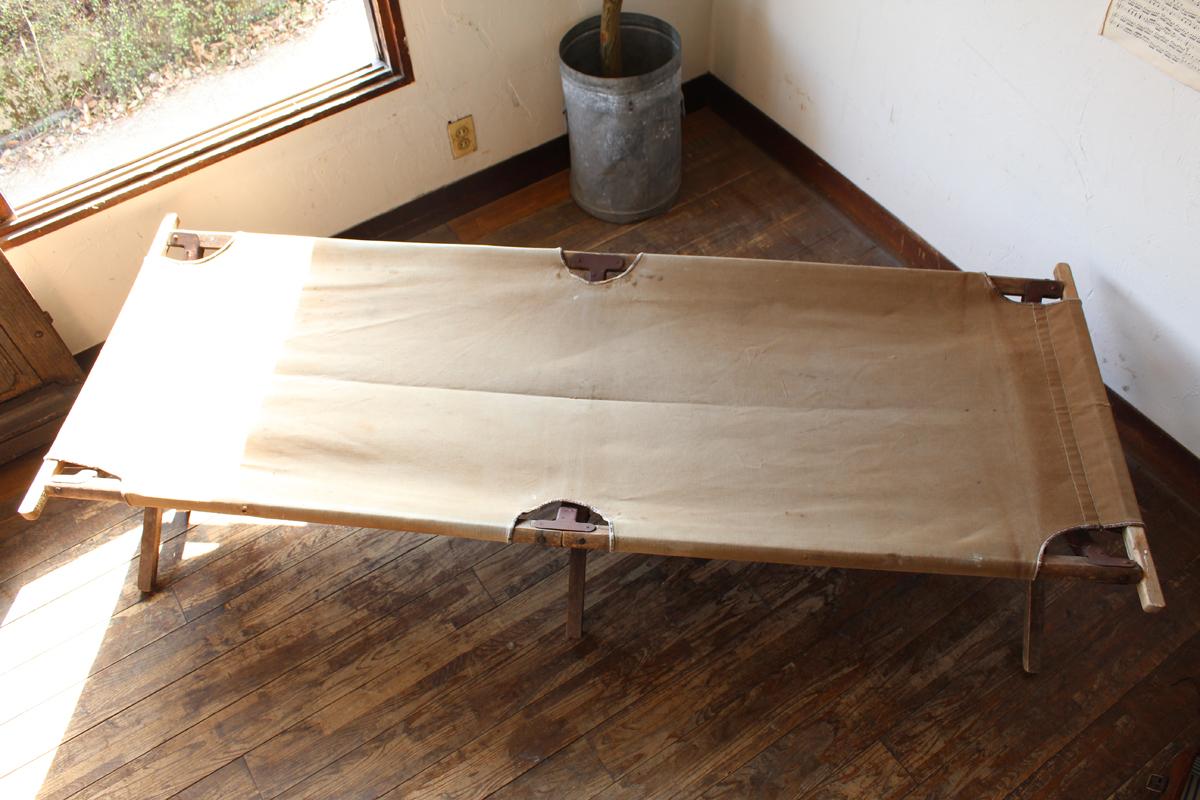 全国送料無料 ブロカント キャンプ コット ベッド