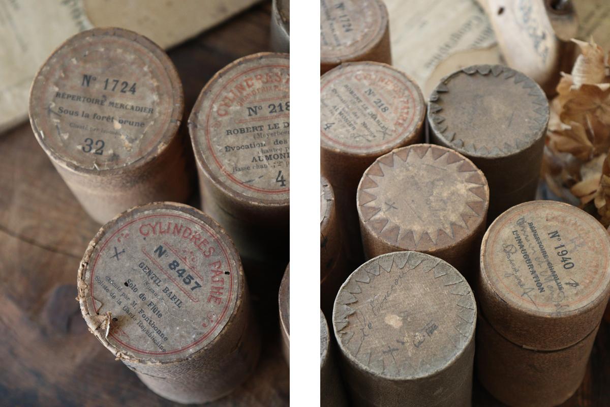 古い円筒のボックス 古いボックス 全国送料無料