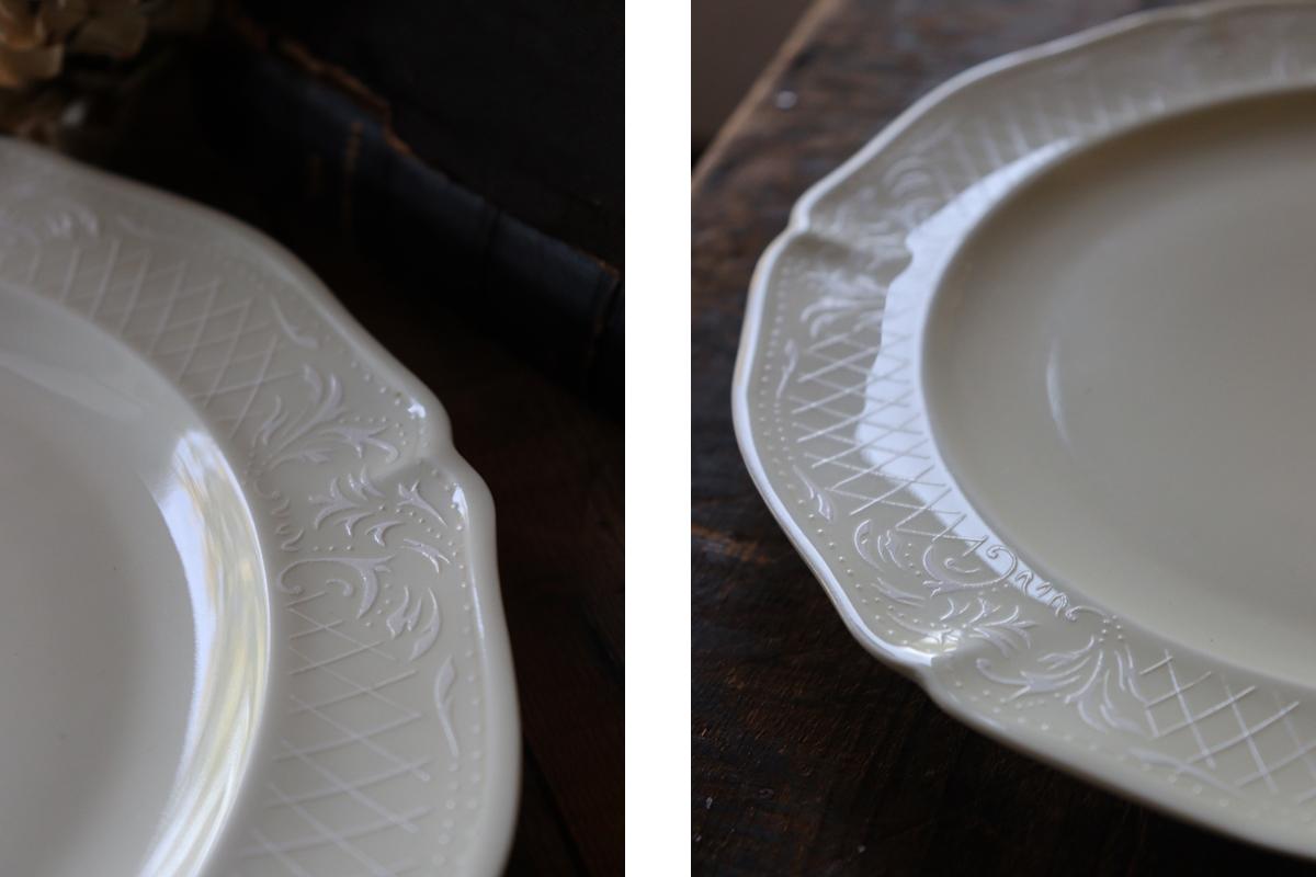 リモージュ磁器ディナープレート 古いお皿 全国送料無料