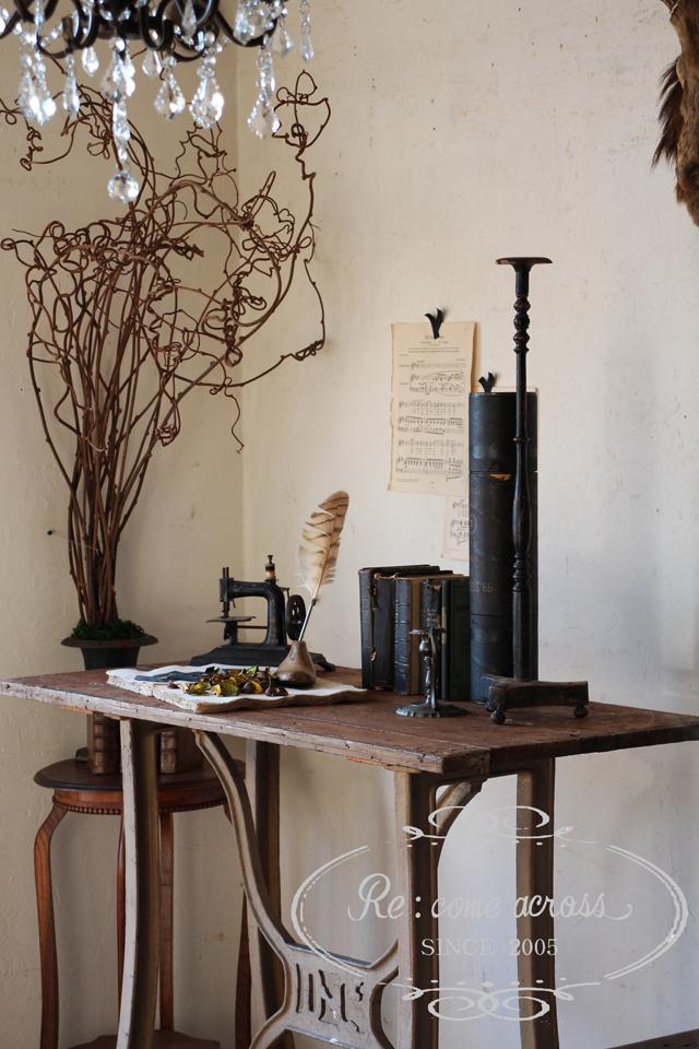 フランスBrocante ファクトリーテーブル 工業系 インダストリアル 作業台 全国送料無料