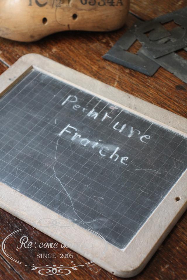 フランスブロカント ブラックボード 黒板
