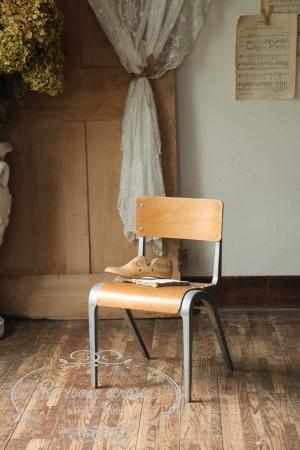 フランスブロカント キッズチェア 椅子