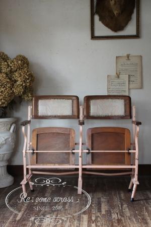 フランスブロカント フォールディングベンチ 椅子