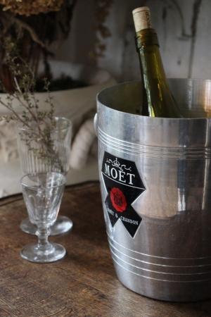 P101-1 フランスの古い Moët & Chandon(モエ・エ・シャンドン)のシャンパンクーラー ワインクーラー