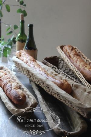 ブロカント カゴ 籠 全国送料無料 パン屋の道具