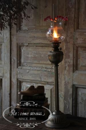 アメリカアンティーク オイルランプ 照明 灯り