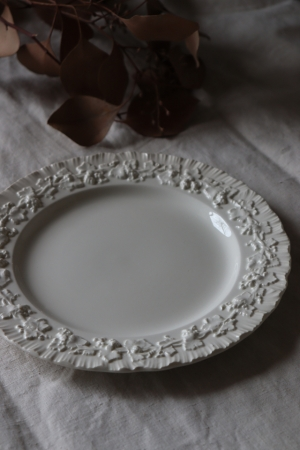 イギリスの古い WEDG WOOD クイーンズウェア プレート お皿
