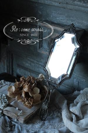 フランスアンティーク ミラー 天使 エンジェル 鏡 全国送料無料