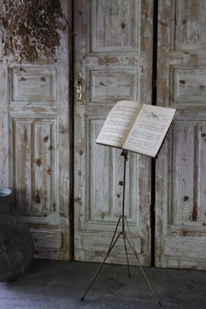 U102 イギリスの古い 譜面台 楽譜スタンド  楽譜立て