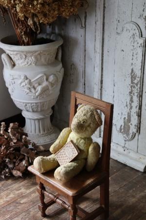 フランスアンティーク 小さなウッドチェア キッズチェア 椅子