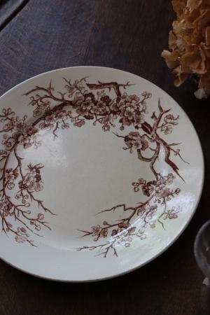 フランスのBrocante LUNEVILLE リュネヴィル ディナープレート お皿フランスの古い LUNEVILLE リュネヴィル ディナープレート お皿