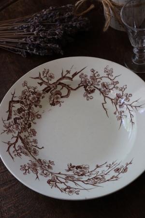 フランスBrocante LUNEVILLE リュネヴィル スーププレート 深皿