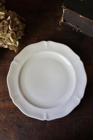 フランスBrocante ANCIENNE FABRIQUE ROYALE LIMOGES FRANCE リモージュ磁器 デザートプレート お皿