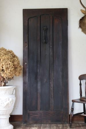 フランスBrocante ブラウンのドア 玄関ドア 建具